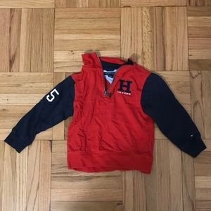Tommy Hilfiger 1/4th zip pull over